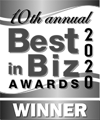 Best in Biz Awards 2020 Bronze Winner logo